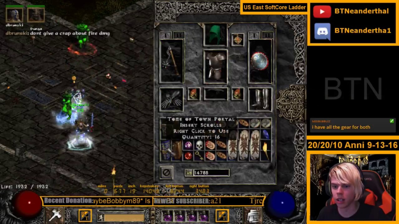 How to boost your attack rating quickly (Diablo 2)