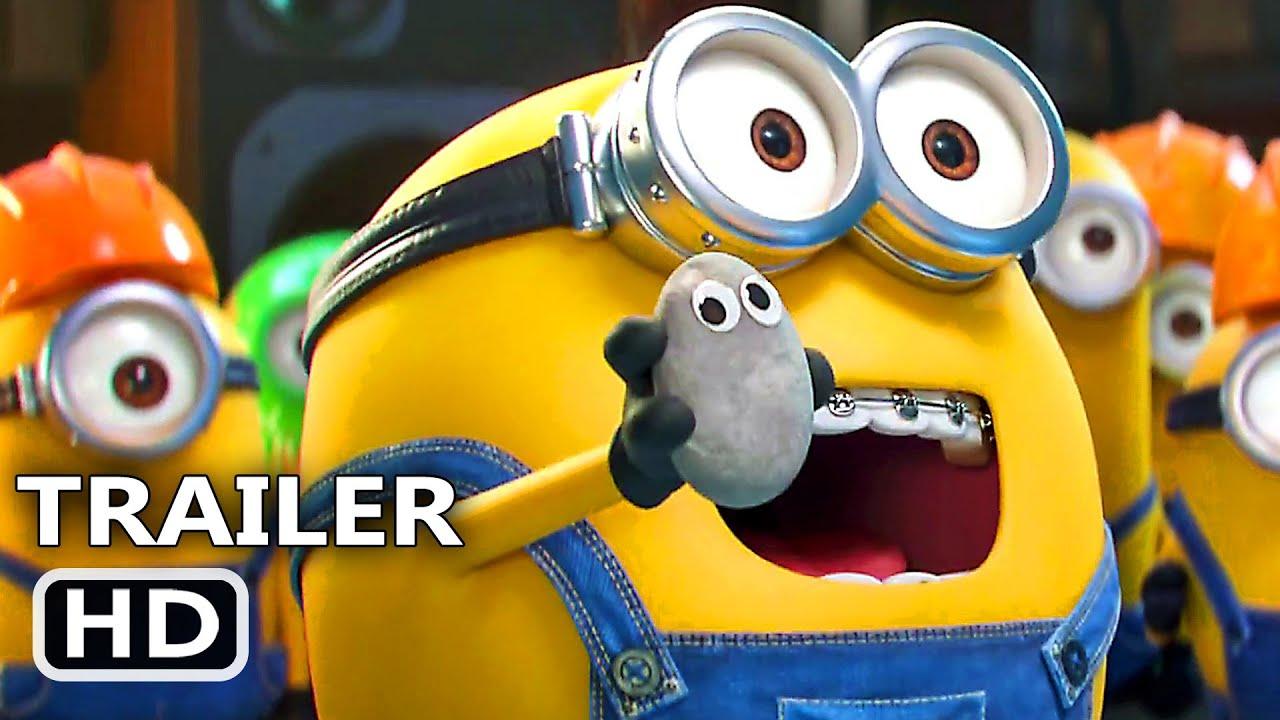 Minions 2 Trailer Brasiliero Dublado 2020 A Origem De Gru Youtube