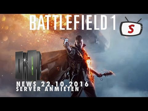 Battlefield 1 - News Server Rentals [2K60][DEU]