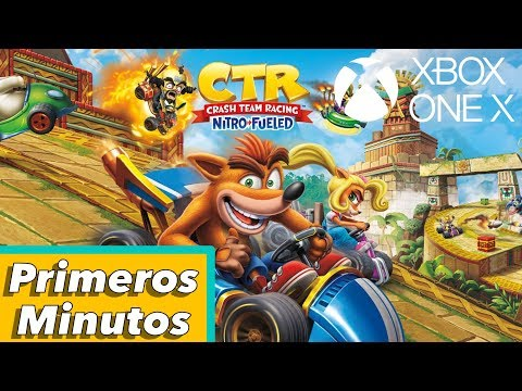 Crash Team Racing Nitro-Fueled - Primeros Minutos En Xbox One X   Gameplay