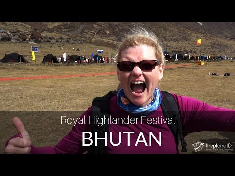 We Met the King of Bhutan! - New Cultural Festival in 4K
