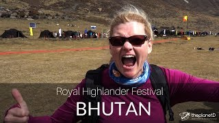 We Met the King of Bhutan! - New Cultural Festival in 4K