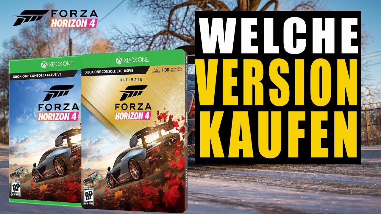 Forza Horizon 4 Guide Welche Version Kaufen Alle Editionen Alle Inhalte Youtube