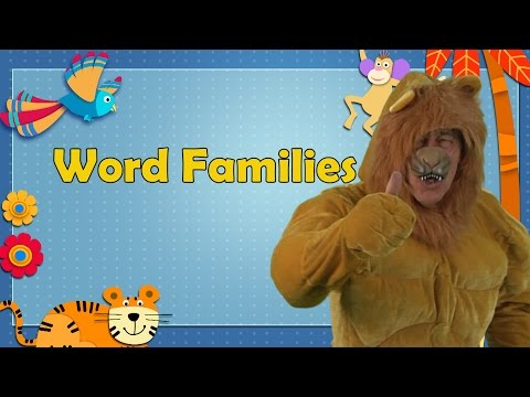 Word Families  Word Families Song  Word Families for Kindergarten  Jack Hartmann