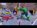 ► Incredible grand super hero monster war #2 Thing Rescue Mission