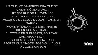 Canserbero - Así mismo - Letra (Street lyrics)