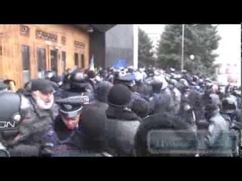 Одесса, «Антимайдановцы» битами