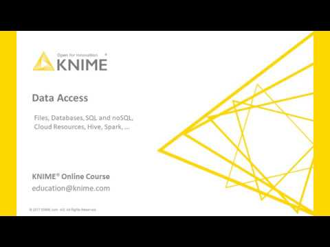 Data Access with KNIME