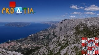Great Panoramas Of Dalmatia - Vošac Peak - Biokovo - 1422m - Full Hd Croatia!