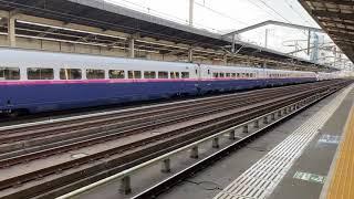 E2系やまびこ号&E3系つばさ号発車シーン@宇都宮駅