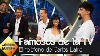 El 'Teléfono escacharrado de imitaciones' de Carlos Latre - El Hormiguero 3.0