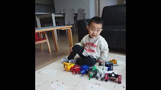 나승튜브 애니멀포스 5살 합체소개