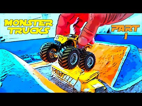 Diy Kids Monster Truck Arena Part 1 Hot Wheels Jam