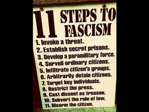 11 Steps To Fascism In America With Chris Dillard Episode 8 Youtube