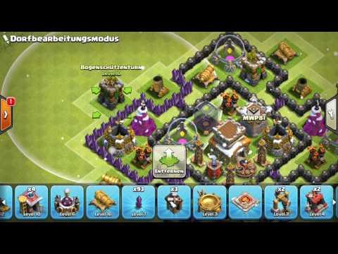 Clash of clans rathaus  level 8 beste verteidigung