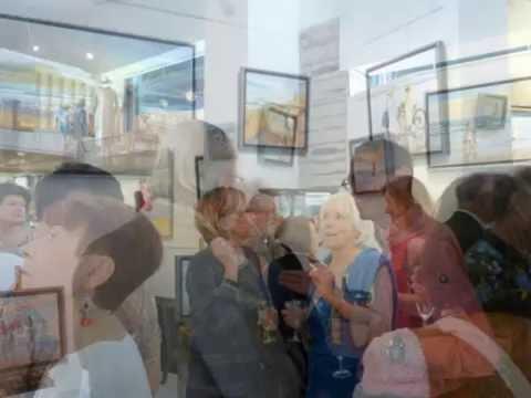 """Galerie Page Biarritz photos vernissage exposition """" reflets d'été"""" juillet 2016"""