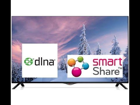 Настройка программы Smart Share для телевизора LG