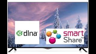 Настройка программы Smart Share для телевизора LG(Как подключить телевизор к компьютеру через WiFi. В этом видео, я показываю как настроить телевизор, что бы..., 2015-01-11T18:03:15.000Z)