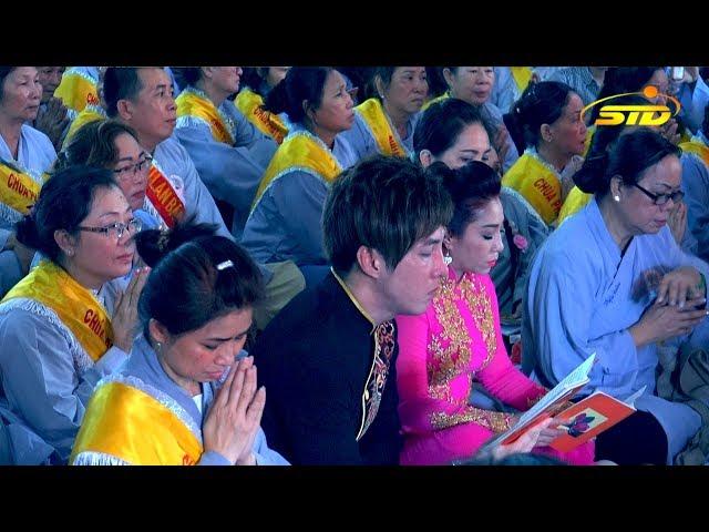 Hạo Nam  & Thoại Mỹ Tụng  Kinh Vu Lan tại Chùa Phật Học 2 - Sóc Trăng