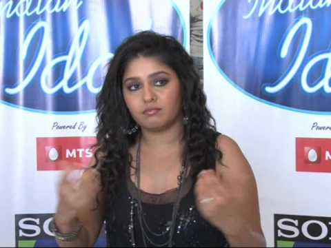 Indian Idol - Sunidhi Chauhan Interview