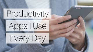 Top PRODUCTIVITY Apps I Use Every Day