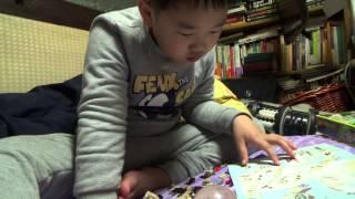 짝퉁 레고 레전드 비스트 사자 블럭 장난감을 힘들게 조립하는 아이와 단비스 예전 얼굴 사진