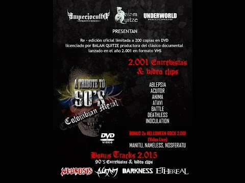 A TRIBUTE TO 90´S COLOMBIAN METAL - INTRO DVD
