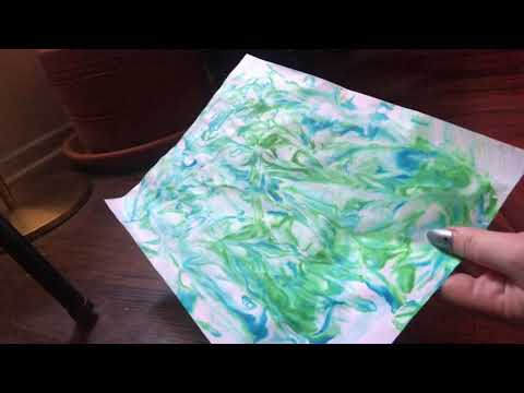 Theatre Skills @ Home: Make a Custom Marbled Journal