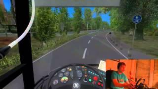 Lets Play Omsi Mit dem Setra UL215 durch Ahlheim