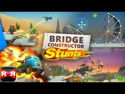 Bridge Constructor Stunts (By Headup Games) - iOS Gameplay Video