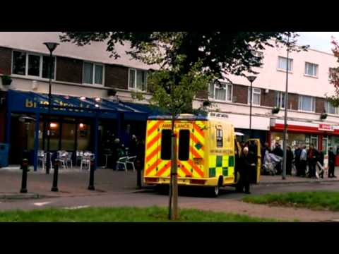 Casualty filming 24102013 Cardiff