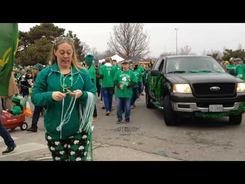 Video: Ancient Order of Hiberians St. Patrick's Day Parade 2018