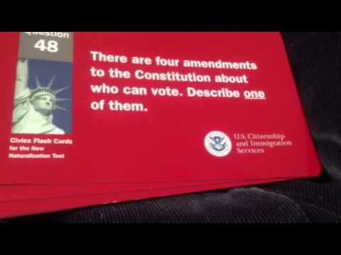 U.s citizenship 100 questions 2013