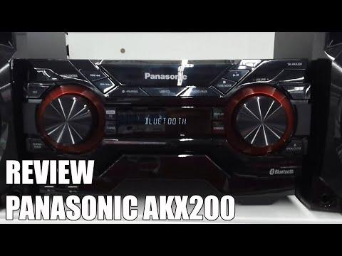 Review Panasonic AKX200 Nueva microcadena Bluetooth 2016