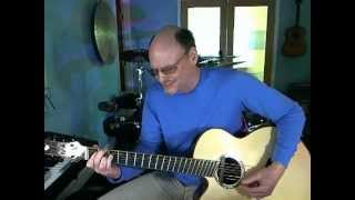 Crazy by Willy Nelson (Patsy Cline) Lesson By Chris Kemp.mov