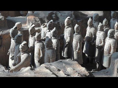 Terracotta Army, Xian, China in 4K (Ultra HD)
