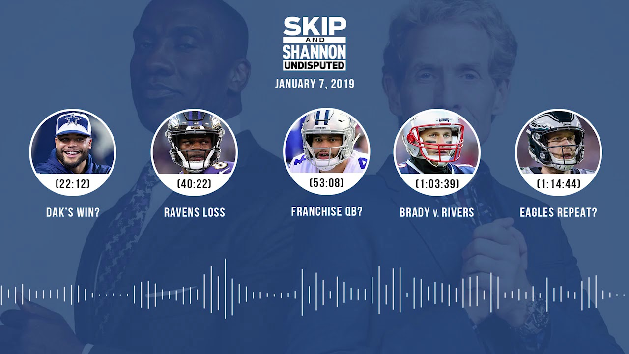 UNDISPUTED Audio Podcast (1.07.19) with Skip Bayless and Shannon Sharpe   UNDISPUTED