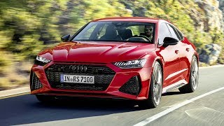2020 Audi RS7 Sportback first video