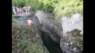 Прыжки в Хаджохской теснине