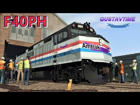 Amtrak F40ph Restoration |