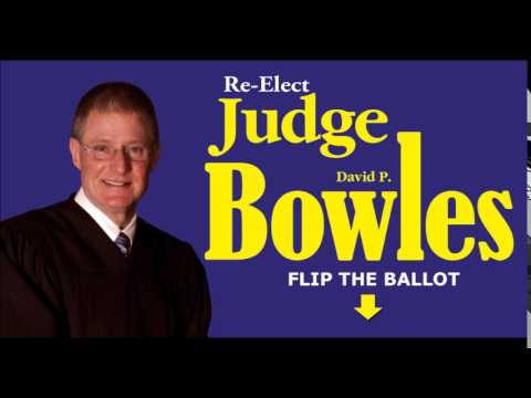 Vote Judge David Bowles on November 4th, 2014