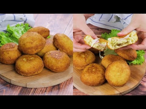 Potato bombs savory and cheesy really easy to prepare