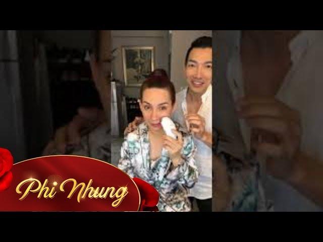 Livestream Phi Nhung làm đẹp cùng Nhật Bình Makeup