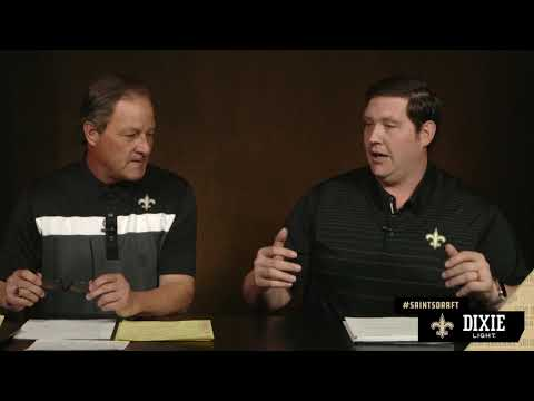Zach Strief breaks down the Saints 1st Round Pick Marcus Davenport