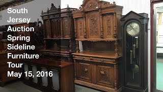 May 15, 2016 Spring Sideline Furniture Tour - South Jersey Auction