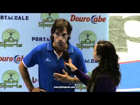 OC Barcelos - AJ Viana (1ª Divisão) - Flash Interview