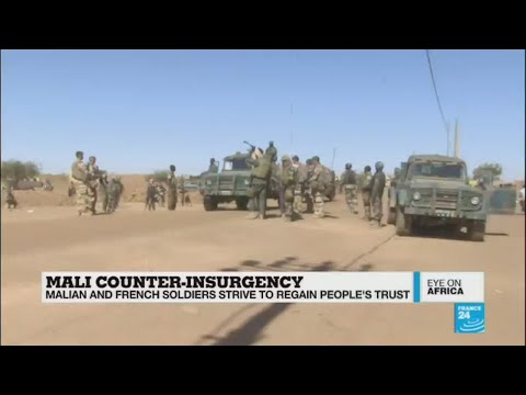 Eye On Africa: Malian and French soldiers strive to regain people's trust