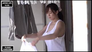 My Sister Is Drying Her Laundry With Her Uncle. (JAPAN LIFE VLOG Vida Japonesa) 6