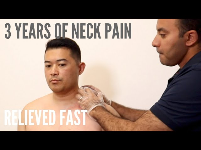 3 Years of Neck Pain Relieved Fast (REAL TREATMENT!!!)