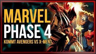 MARVEL PHASE 4  Kommt AVENGERS VS XMEN nach Endgame?  onsXreen
